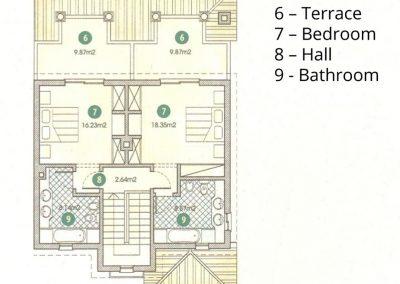 T2 Townhouse ground floor